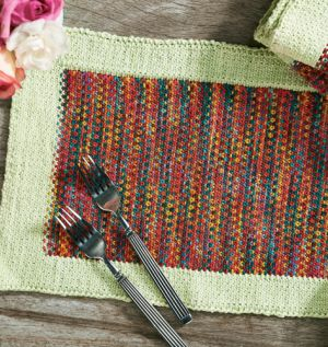 Easy beginner placemats