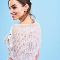 Alpaca and Mohair Shawl - Knitting Pattern