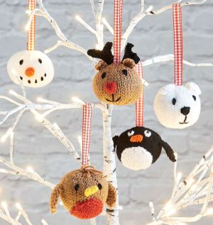 Easy Animal Baubles