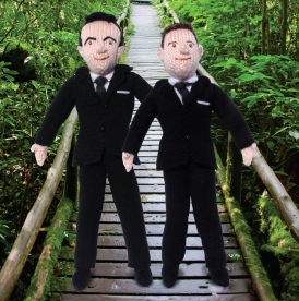 Knit Your Own Ant & Dec!
