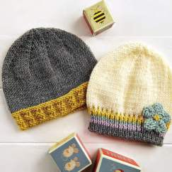 Royal Baby Beanie Hat Knitting Patterns