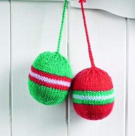 Bonus bauble pattern
