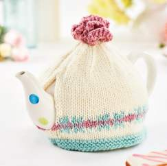 Beginner's Fair Isle Teacosy