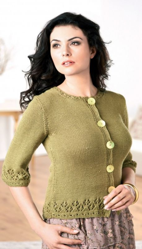 Bell-Shaped Cardigan