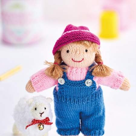 Bo Peep Play Set Knitting Pattern