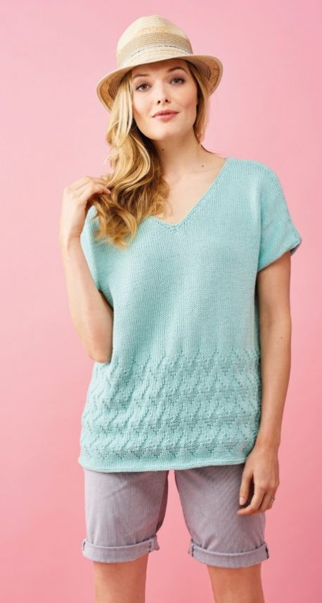 Bright and Breezy Cotton Top