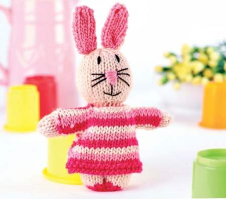 Bunny and Outfits Knitting Pattern