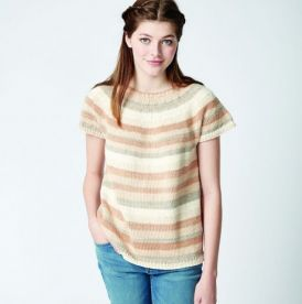 Caron Cotton Cakes Top Pattern