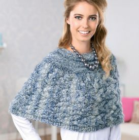 Cabled capelet