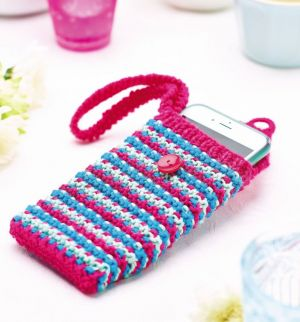 Strappy phone case