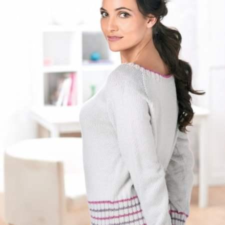 Simple Cardigan | Free Knitting Patterns | Let's Knit Magazine
