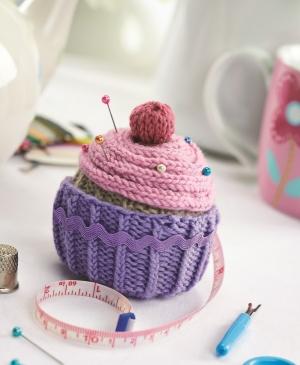جاسوزنی بافتنی کاپ کیک