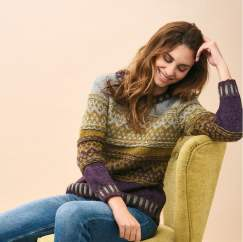 Chevron Fair Isle Jumper