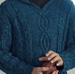 Child's Summer Hoodie Knitting Pattern