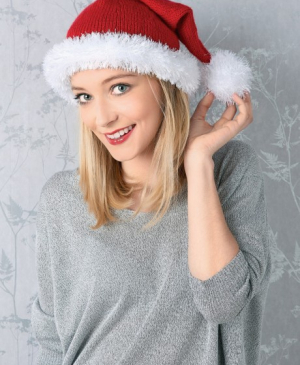 Christmas Quick Knits: Santa Hat, Elf Hat & Wreath