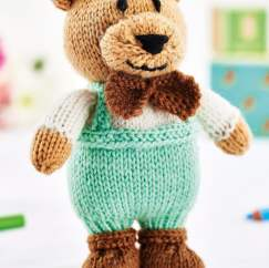 Classic Teddy Bear Toy Knitting Pattern