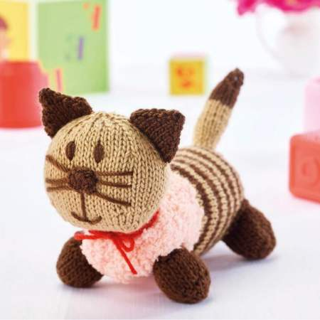 Cleo the Cat and Rupert the Dog Knitting Pattern