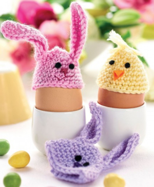 Quick & easy Easter egg cosies