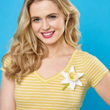 Knit A Daffodil For Marie Curie Knitting Pattern
