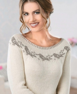 Yoke Bird Sweater