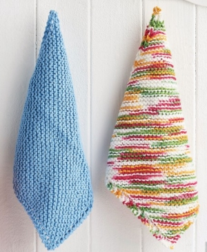 Easy Eco-Friendly Knitted Dishcloths