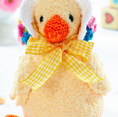 Easter Duck Knitting Pattern