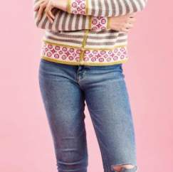 Easy Boatneck Sweater Knitting Pattern