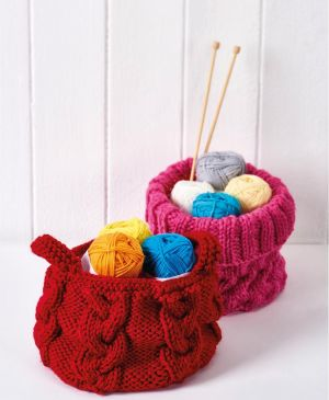 Easy Cable Storage Baskets
