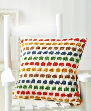 Easy Spotty Cushion