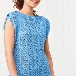 Eco Cotton Easy Knitted Top
