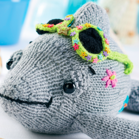 Cool Knitted Dolphin   Free Knitting Patterns   Let's Knit ...