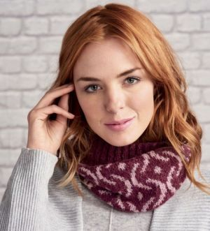 How To Knit A Fair Isle Cowl