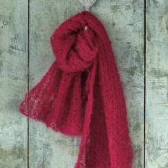 Featherweight Mantilla Scarf Knitting Pattern