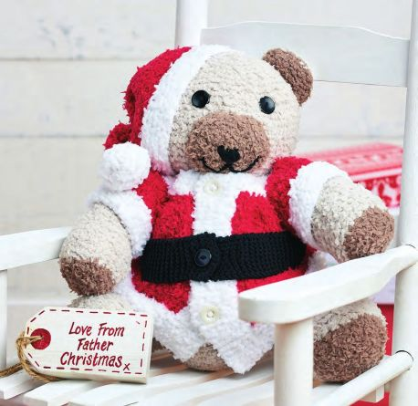 Fluffy Christmas Bear