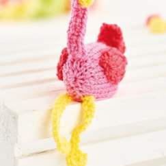 Flamingo Easter Egg Covers Knitting Pattern