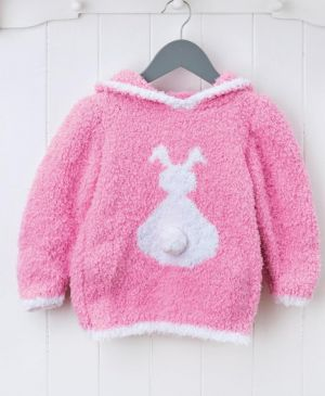 Fluffy Bunny Jumper For Children