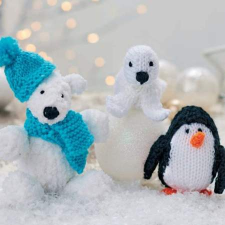 Frosty And Friends Knitting Pattern