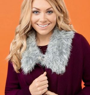 Easy Faux Fur Collar