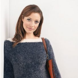 On Trend Furry Sweater