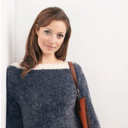 On Trend Furry Sweater Knitting Pattern