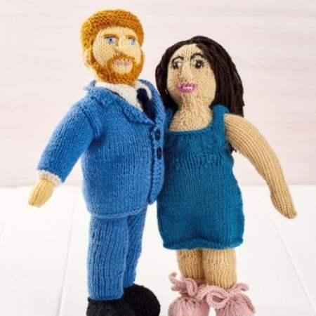 Knit Prince Harry and Meghan! Knitting Pattern
