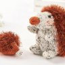 Easy Eyelash Yarn Hedgehog Toys