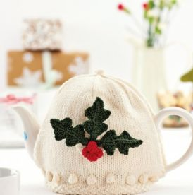 Holly Leaf Teacosy