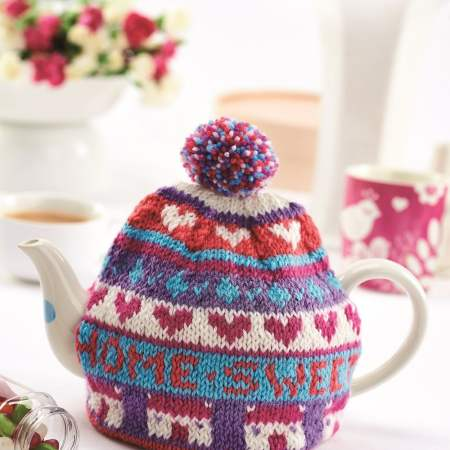 Home Sweet Home teacosy Knitting Pattern