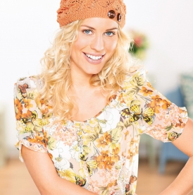 Lacy summer beret
