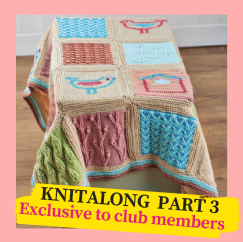 Little Birdie Blanket Knitalong Part 3 Knitting Pattern