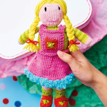 Pigtail Doll Knitting Pattern