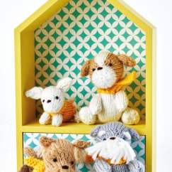 Knitted Puppy Set - Knitting Pattern