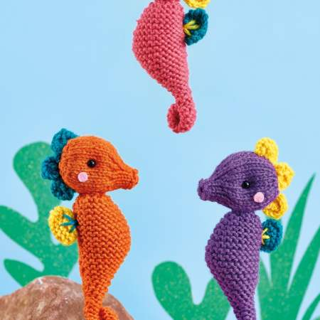 Seahorses Knitting Pattern
