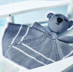 Koala Comforter: Support Australian Animals Knitting Pattern
